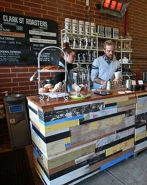 Go Clark Street Roasters pop-up coffee shop. In the Age's Epicure Bites section