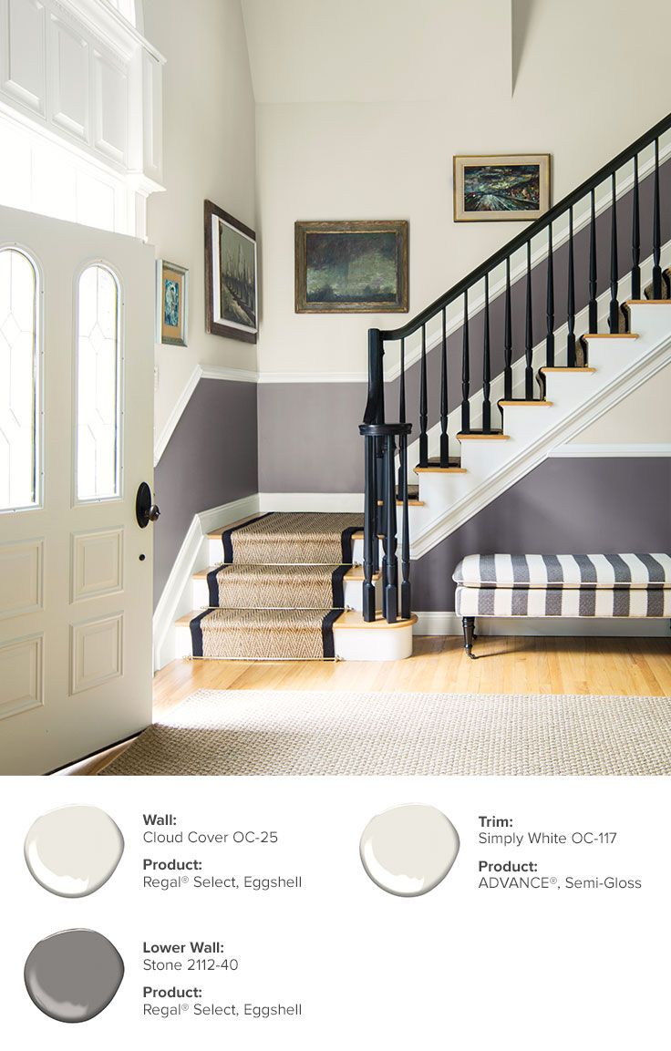Entryway Color Ideas Inspiration Home House House Stairs