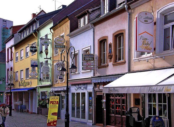 Saarlouis im Saarland. Eine schöne Stadt. Im Tourismus-Marketing spielt Saarlouis eine immer wichtigerer Rolle.