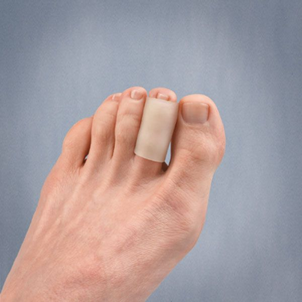 Thin, stretchable Gel Tubes provide protection and comfort for corns, hammertoes, finger lacerations, ulcerations, enlarged joints, skin abrasions and more.