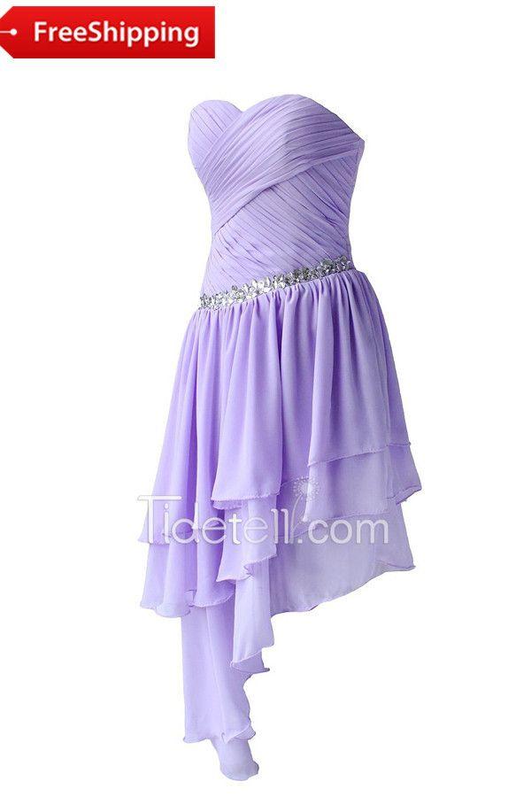 46 mejores imágenes de vestidos morados en Pinterest | Vestidos ...