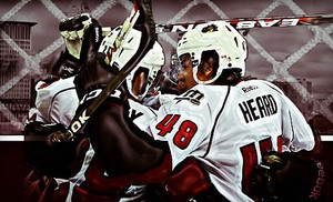 Groupon - Lake Erie Monsters Hockey Game at Quicken Loans Arena (Up to 68% Off). Six Options Available. in Cleveland (Quicken Loans Arena). Groupon deal price: $10.00