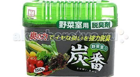 Kokubo Дезодорант-поглотитель неприятных запахов с древесным углём для холодильника (общая камера) 150 г  — 140р.   Kokubo Дезодорант-поглотитель неприятных запахов с древесным углём для холодильника (общая камера) 150 г. Дезодорант поглощает неприятные запахи, даже очень резкие и стойкие.   Содержит древесный уголь, благодаря которому обеспечивается длительный антибактериальный эффект. Продолжительность действия до 2-х месяцев при объеме холодильника до 450-ти литров.   Способствует долгому…