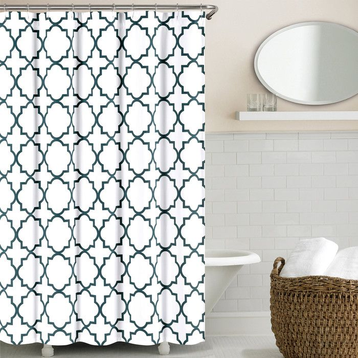 You'll love the Prattsburgh Cotton Shower Curtain at AllModern - With Great Deals on modern Bath  products and Free Shipping on most stuff, even the big stuff.