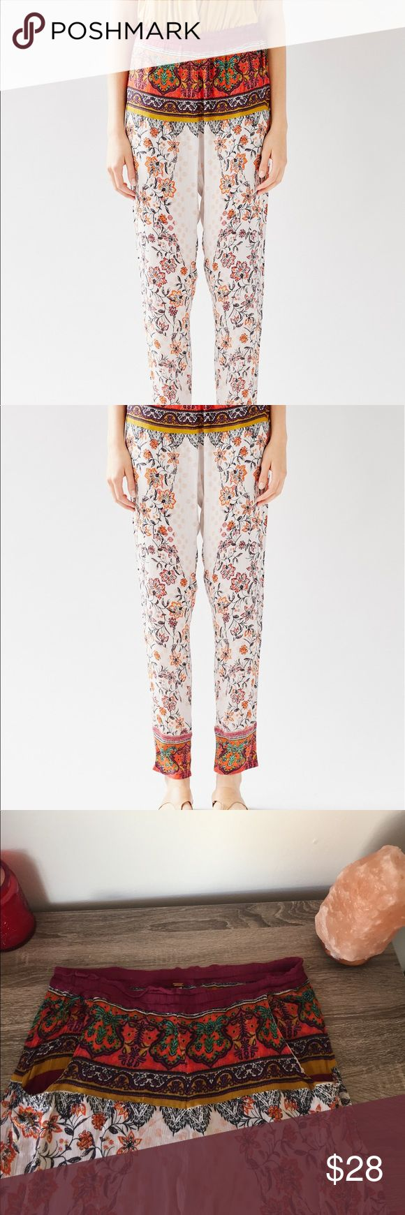 Extreme print Harlem pant Extreme print Harlem pant⚡️ super comfy and fashionable ⚡️ Free People Pants