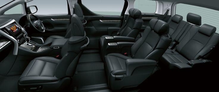New Toyota VellFire 2.5G Interior 5