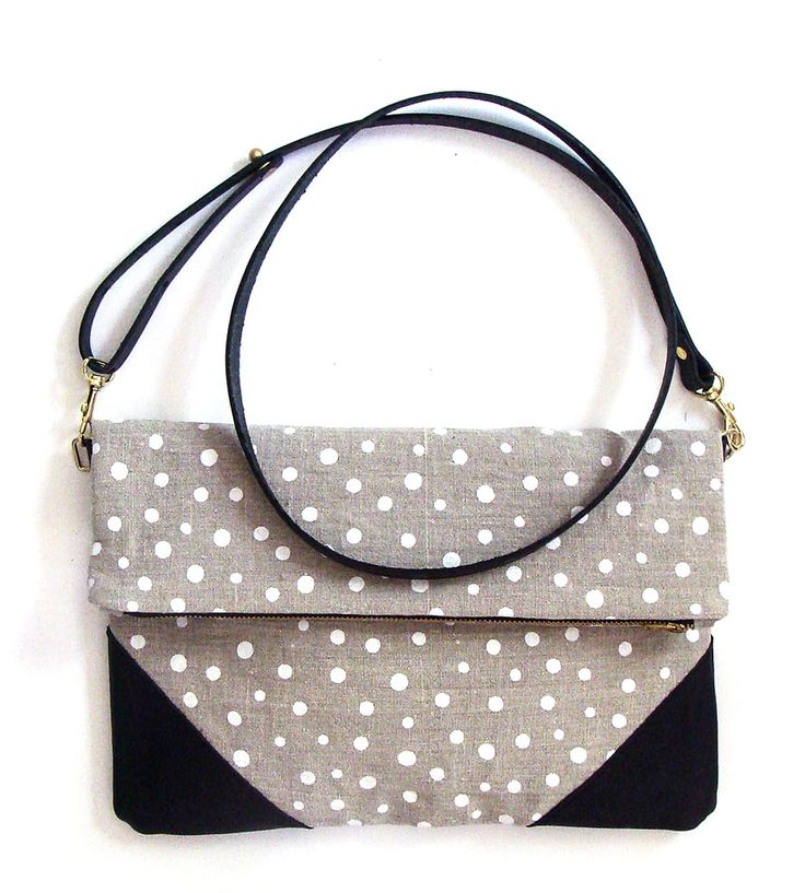 White Dot Crossbody Clutch | Women's Bags & Accessories | Milkhaus Design | Scoutmob Shoppe | Product Detail
