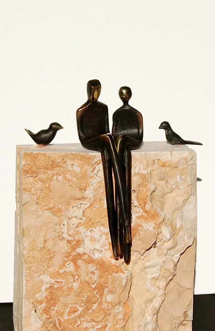 Bronze figurine.