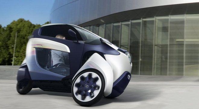 Toyota i-Road : Mobil Konsep Roda Tiga Dari Toyota #info #bosmobil