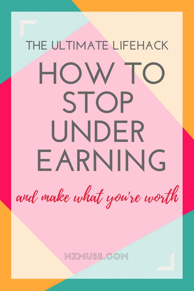 Want to make more money? Not living up to your full earning potential? Learn how to spot the signs and break the cycle of underearning!