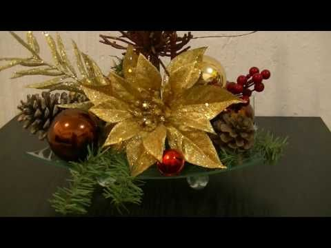 Haz un hermoso Adorno de Navidad para mesa