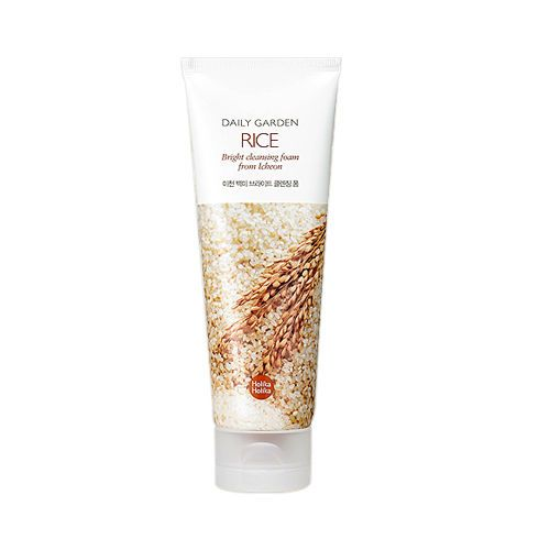 [Holika Holika] Daily Garden Rice Bright Cleansing Foam - 120ml