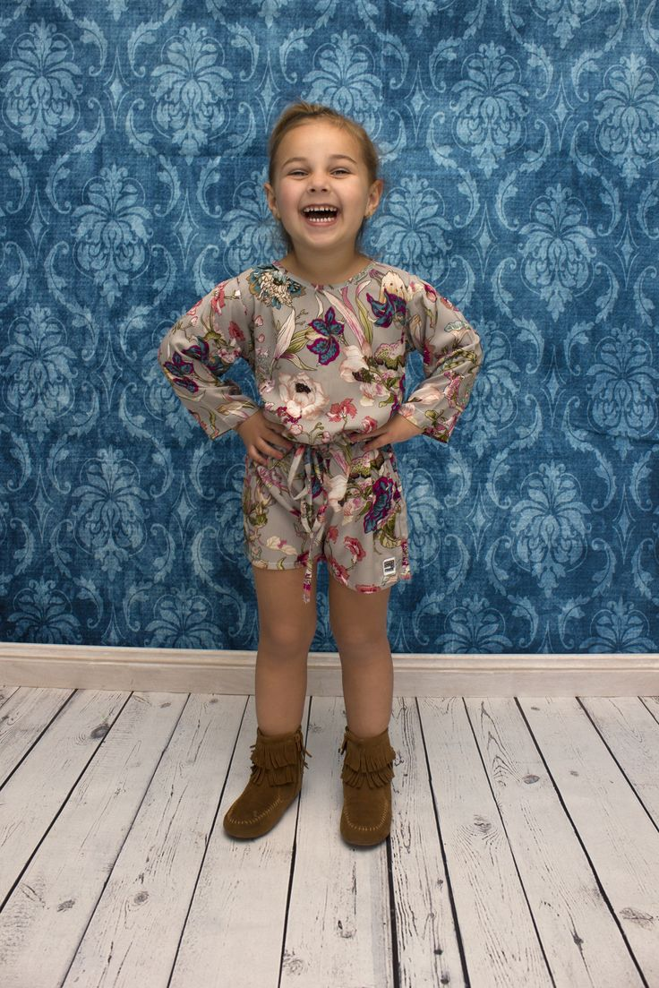 Oh the Miss Scarlett Playsuit / Girls Romper is simply perfect.  www.sweetchildofmine.com.au