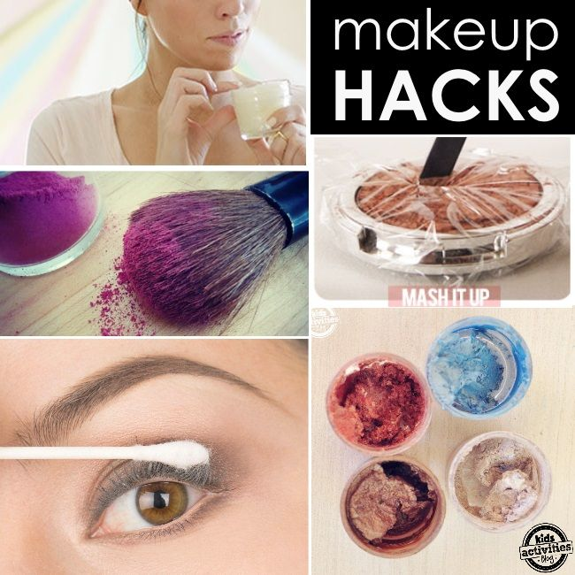 Beauty Hack Makeup: {Wicked Easy} Make-Up Tips