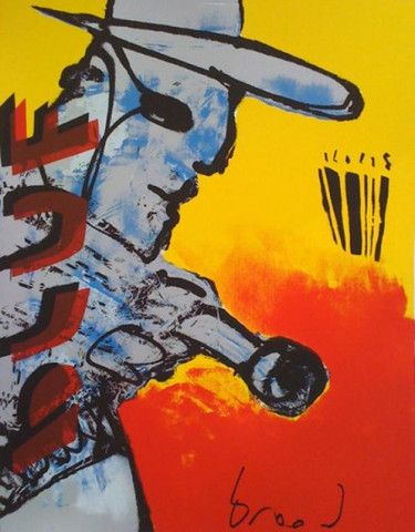 Bluf | Herman Brood | http://www.yookoo.nl/collections/online-galerie/products/bluf