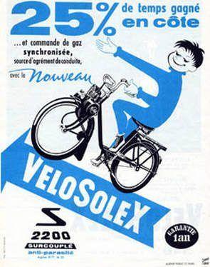 Velosolex-2200-monte-les-cotes-à-25-pour-cent-surcouplé-antiparasité-vélosolex-Courbevoie-France-Europe