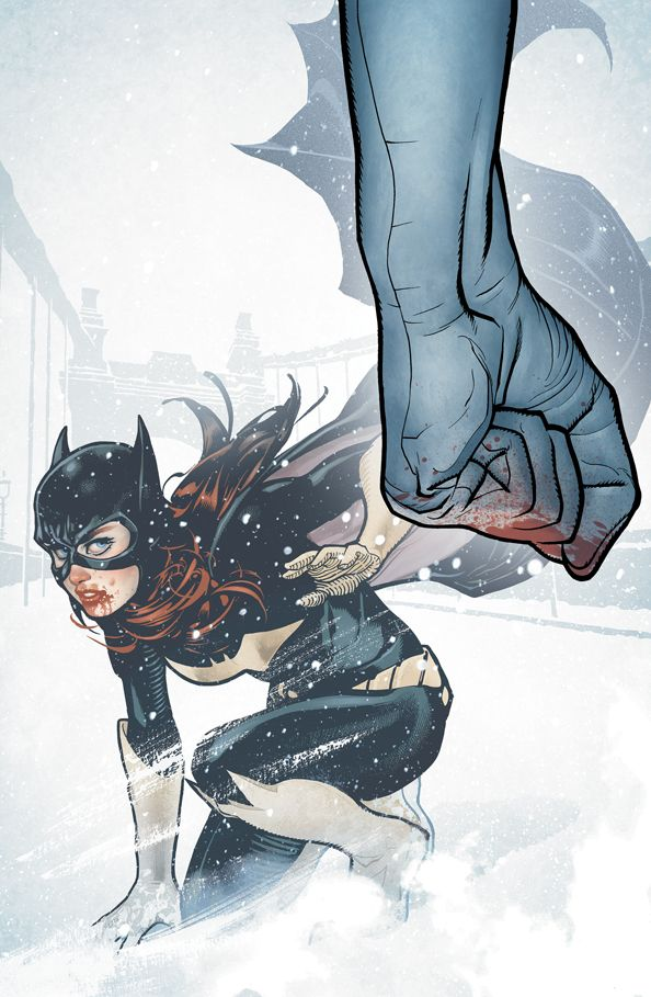 "Cover to ""Batgirl #5"" by artist Adam Hughes."