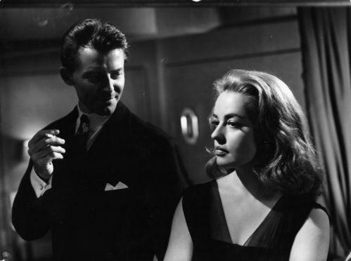 Gérard Philipe et Jeanne Moreau dans Les Liaisons Dangereuses de Roger Vadim en 1959