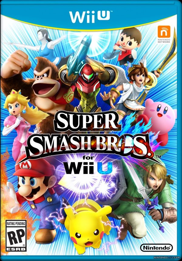Wii U Games | Super Smash Bros. for Wii U (Wii U) News, Reviews, Trailer ...Megaman isnt on the cover :(