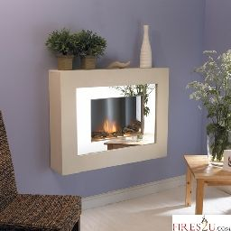 The Flamerite Aspiration electric Suite fire is easily installed, simple wall brackets to surface mount suite Bright mirror front panel The Flamerite Aspiration electric suite has multifunction remote control including dimmer Hidden heater 1000W/2000W Flame without heat setting The Flamerite Aspiration electric suite has a choice of fuel effects either pebbles as standard or driftwood as a cost option Simple lamp change, no tools needed Surround colour: Portland
