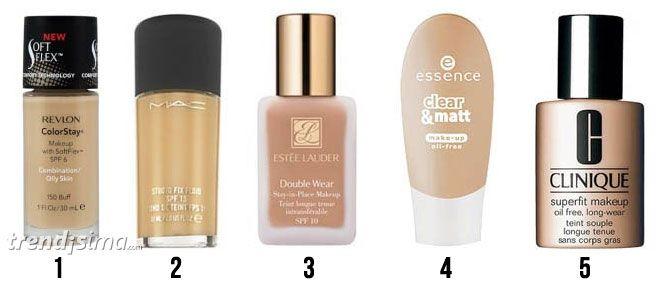 Revisamos el ranking de las 5 bases de maquillaje más populares Son muchos los artículos de revistas, las reviews de Internet y los comentarios en foros so