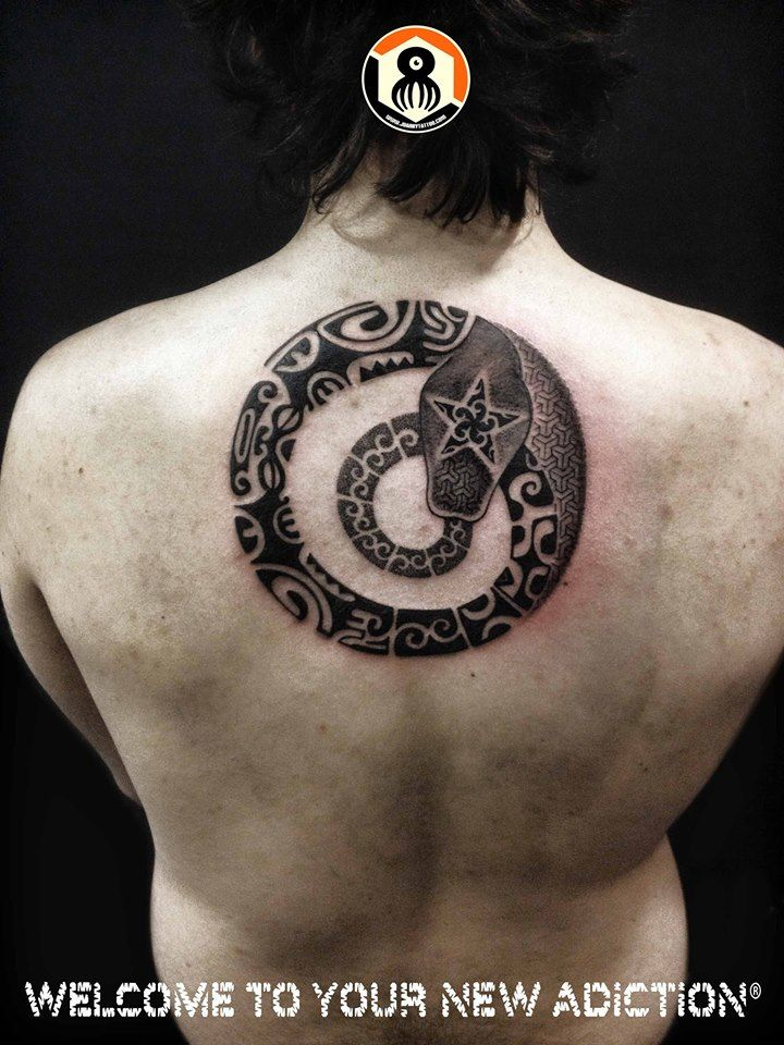 40 best images about ouroboros tattoo on pinterest for Snake eating itself tattoo