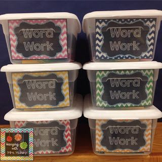 Word Work: Is it too much work for you? (Plus a freebie to help you plan!)