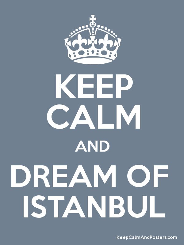 don't dream, just come and visit us in #Istanbul