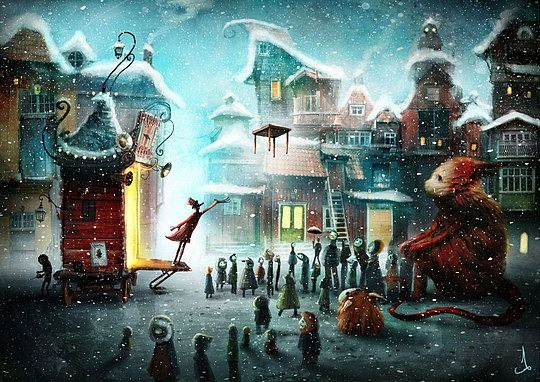The Whimsical Art of Alexander Jansson