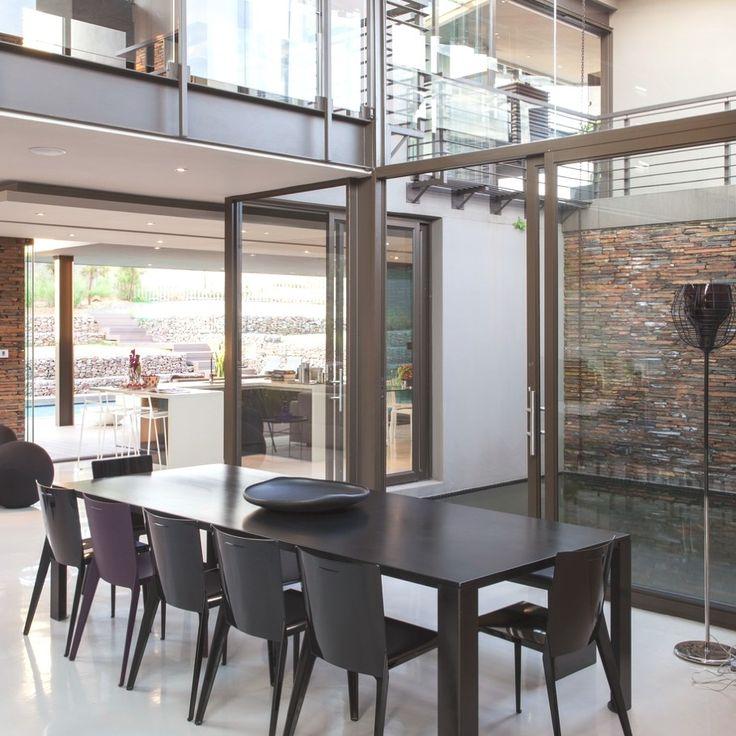 Luxury House Dukken in Johannesburg by Nico van der Meulen Architects