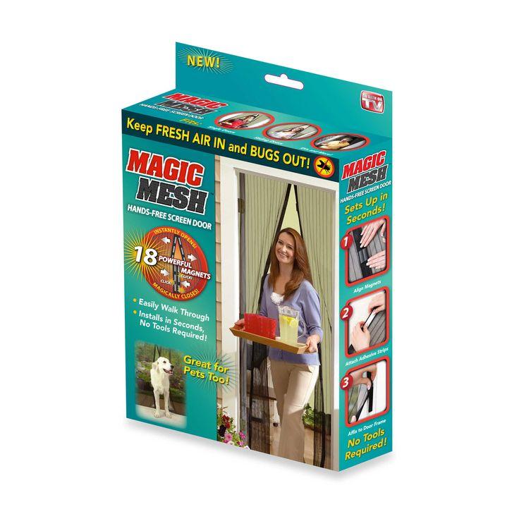 Magic Mesh® Instant Magnetic Screen Door