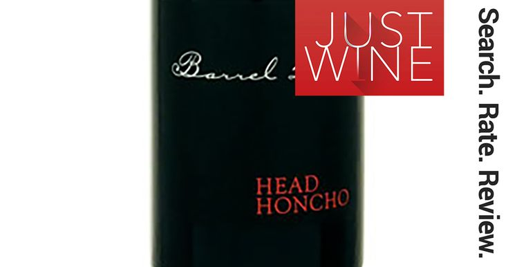 Head Honcho Syrah/Shiraz - candied dark fruit bomb, incredibly smooth and perfectly paired with summer BBQ steaks!