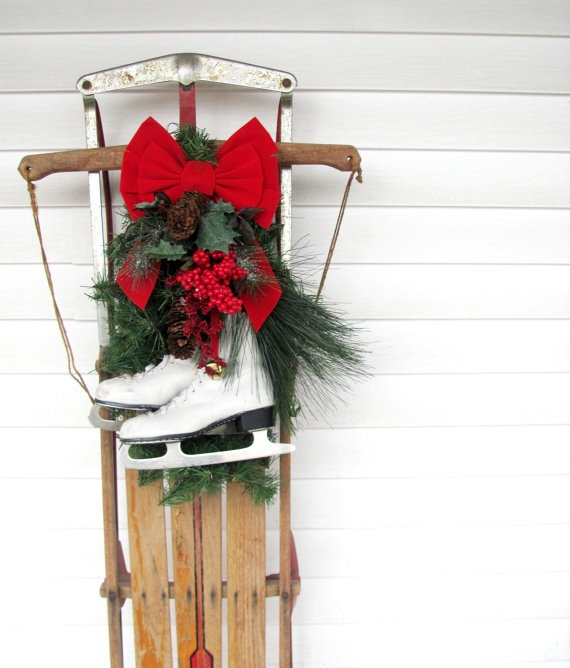 Pinterest Christmas Porch Decorations: Get 20+ Sled Decor Ideas On Pinterest Without Signing Up