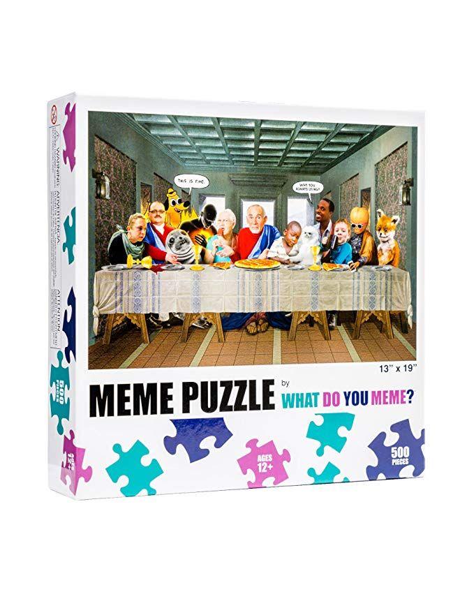 What Do You Meme Last Supper 500 Piece Jigsaw Puzzle What Do You Meme You Meme Memes