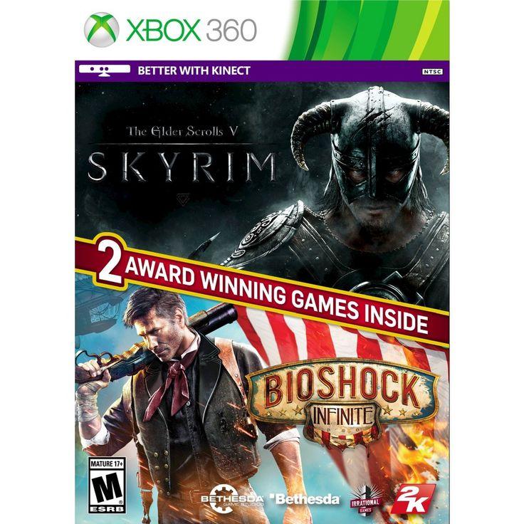 The Elder Scrolls V Skyrim and Bioshock Infinite (Xbox 360)