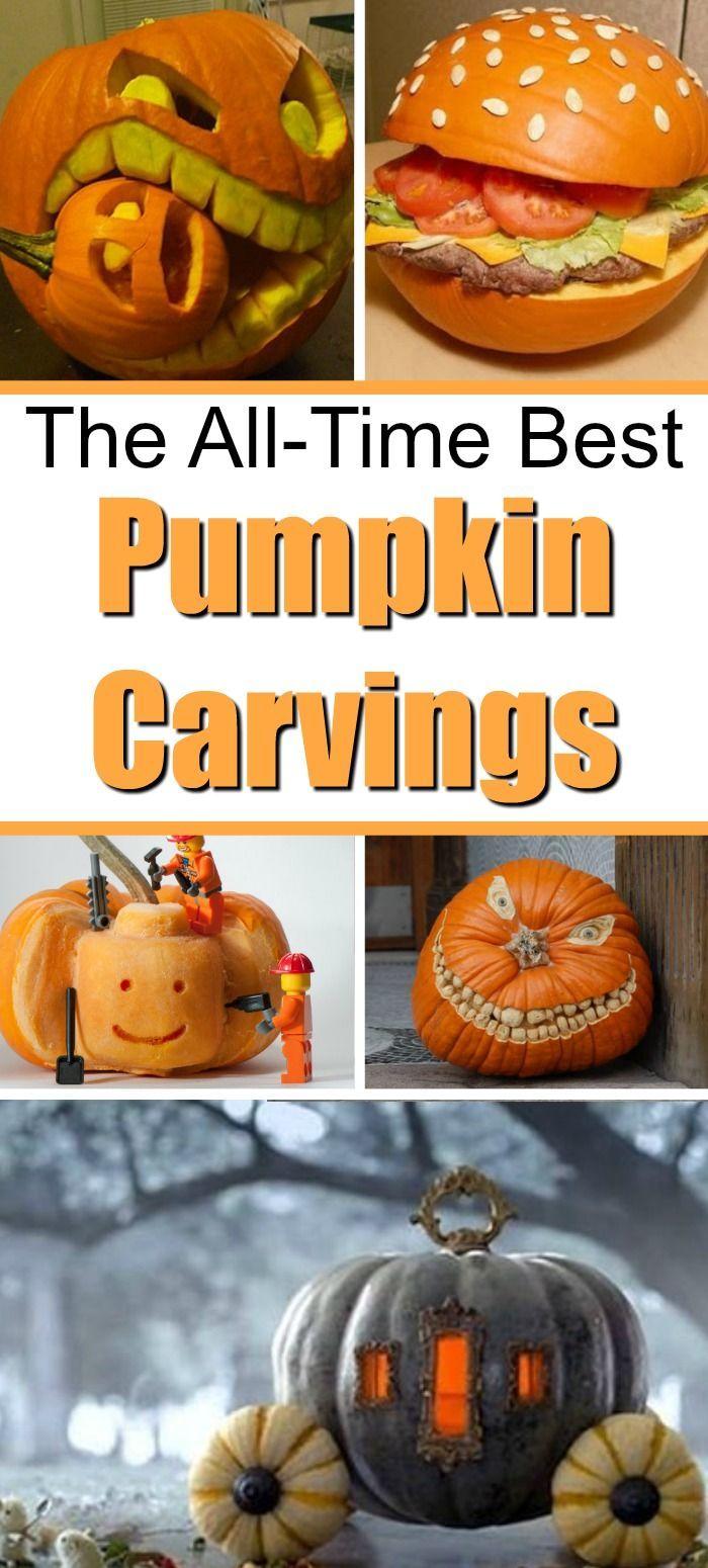 13 Amazingly Creative Halloween Pumpkin Carvings Pumpkin Carving