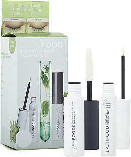 Nourish at night, plump by day with LashFood's MaximEYES System. This duo contains Phyto-Medic Lash Enhancer 0.017 oz. and Conditioning Collagen Lash Primer 0.14 oz. A $36 Value!