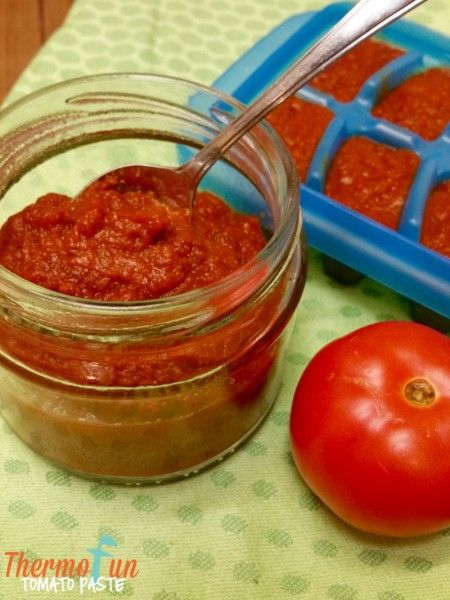 ThermoFun - Everyday Basics - Tomato Paste Recipe | ThermoFun | Thermomix Recipes & Tips