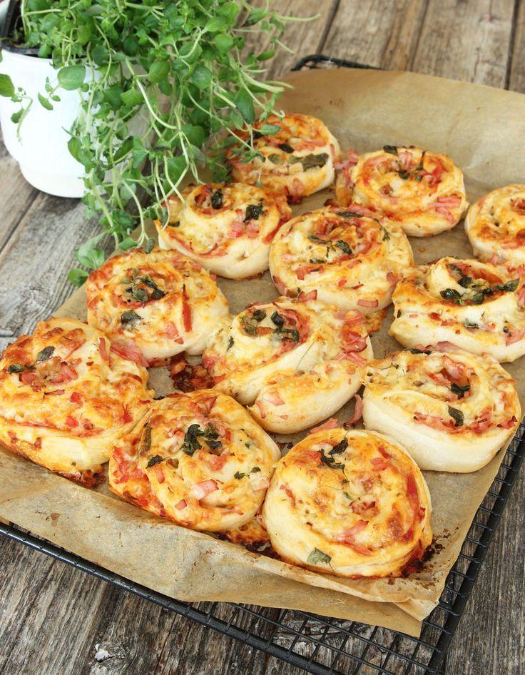 Klassiska pizzabullar – Lindas Bakskola