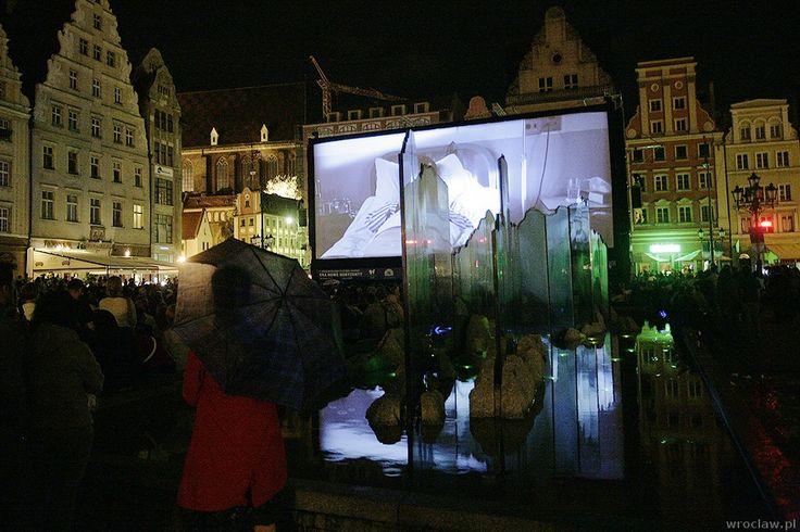 Kino plenerowe we Wrocławiu - na Rynku, Wyspie Słodowej i na Pergoli.