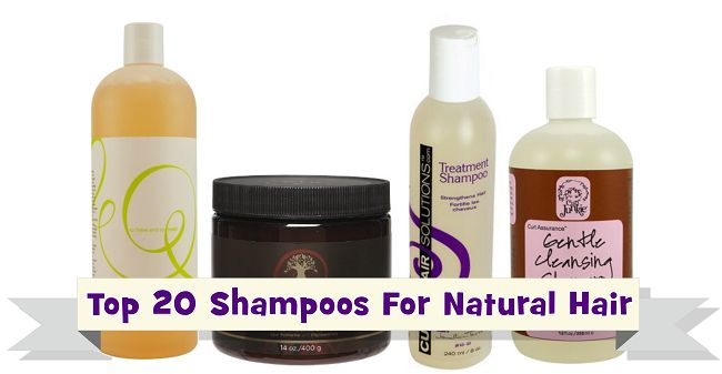 Healthy Hair Tips: Top 20 Shampoos For Natural Hair