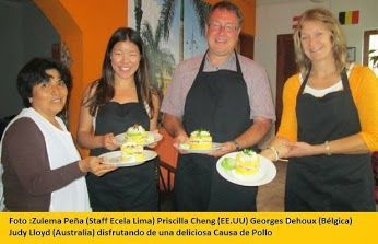 Cooking classes in Lima--YUM!