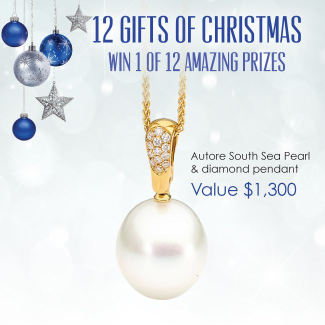 You could WIN this Autore South Sea Pearl Pendant simply by spending in store at York Jewellers this month. Head to www.yorkjewellers.com.au for details.