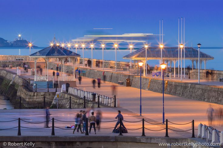 The East Pier, Dún Laoghaire Harbour, Dublin Bay, Ireland | Fine Art Print