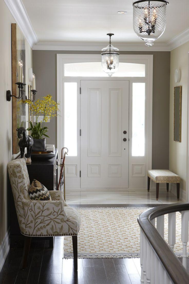 Sarah Richardson, Sarah's House --Front entry way trim