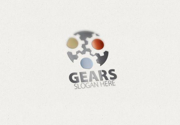 Gears / Gear Logo by Creative Logo on Creative Market