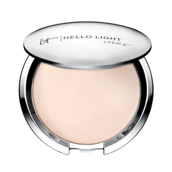 This Highlighter Flatters Every Single Skin Tone   InStyle.com   IT Cosmetics Hello Light Anti-Aging Creme Illuminizer