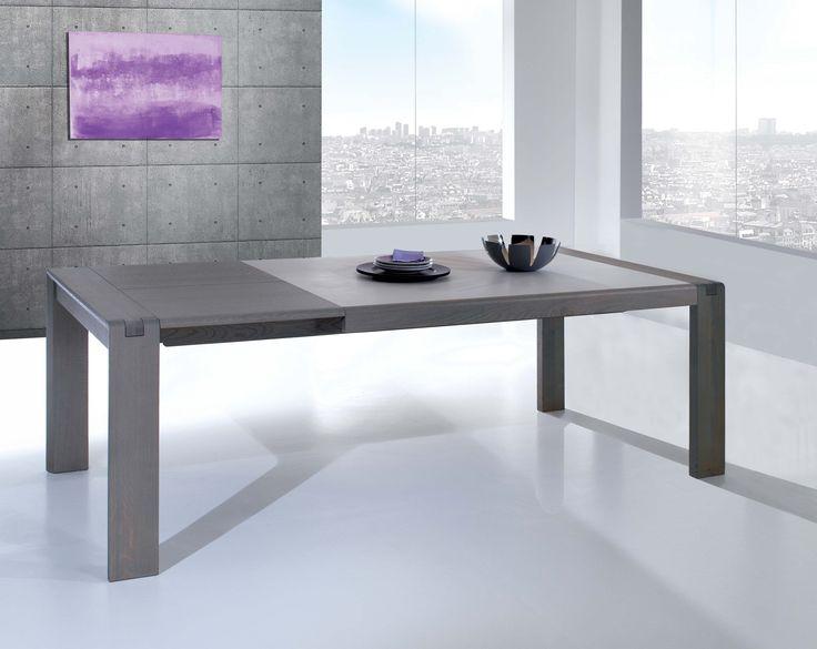 Séjour Céram - Grande table rectangulaire avec 2 allonges
