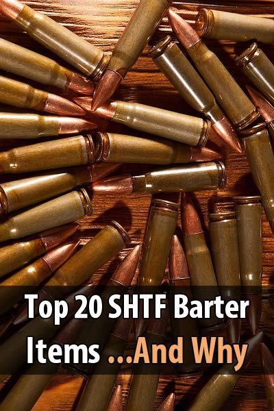 If the economy collapses, people will have to resort to bartering for what they need. Tin Hat Ranch recently published a list of 20 SHTF barter items.
