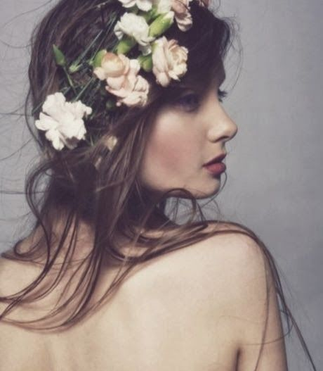 Tiaras de flores - #inspiracoes
